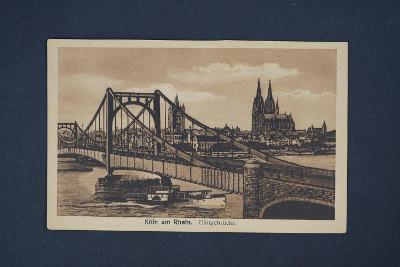 Pohlednice Köln am Rhein
