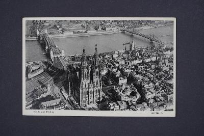 Pohlednice Luftbild Köln am Rhein