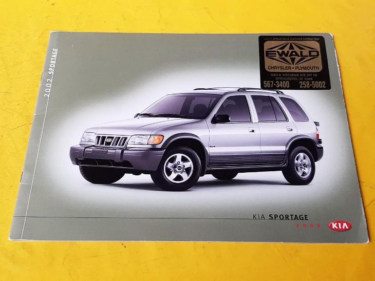 --- Kia Sportage (2002) ------------------------------------------ USA - Motoristická literatura