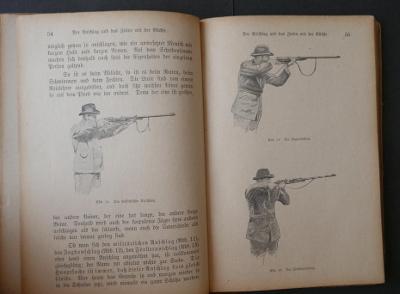 UMĚNÍ STŘELBY - Die Kunst des Schiessens mit der Büchse !!! 1919