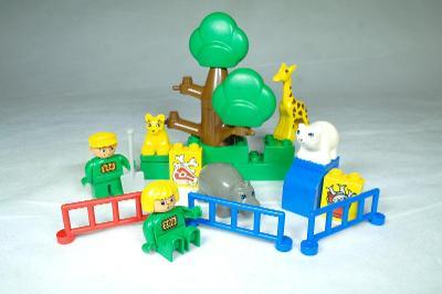 LEGO Duplo 1689 ZOO Dětský kbelík