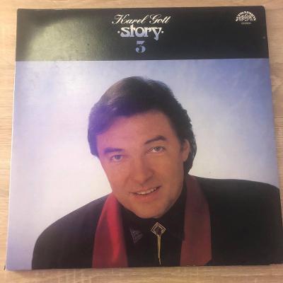 2 LP Karel Gott – Story 3  (TOP STAV) + PŘÍLOHA
