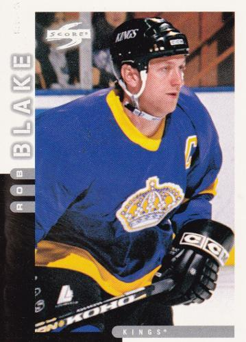 Rob Blake - Los Angeles Kings - Score