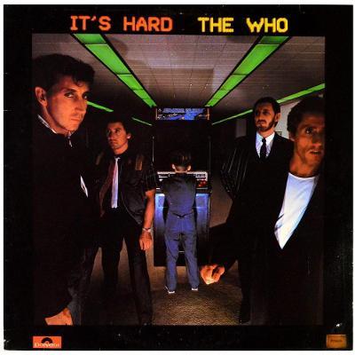 Gramofonová deska THE WHO - It's hard