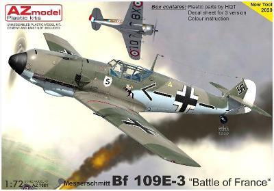 "AZ model 1:72 Bf 109E-3 ""Battle of France""."