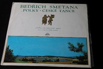 LP - Bedřich Smetana - Polky ,České Tance (d29/3)