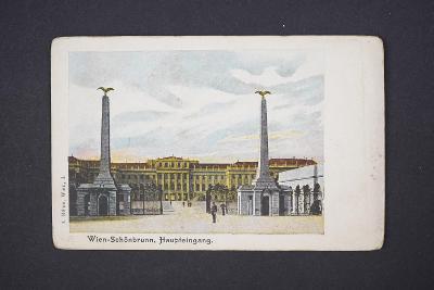 Pohlednice Vídeň