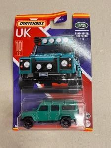 Matchbox UK Land Rover 110