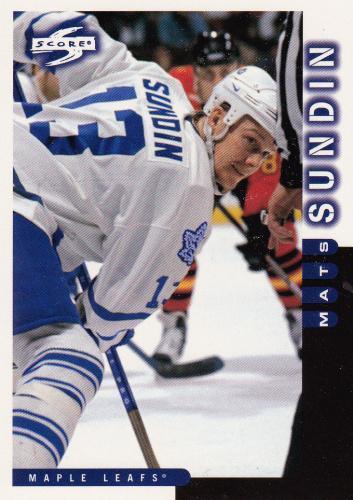 Mats Sundin - Toronto Maple Leafs - Score