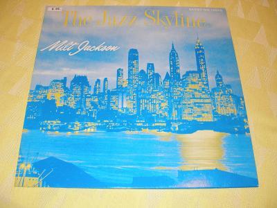 "1 LP 12"" ST Milt Jackson ""The Jazz Skyline"" (2.22.)"