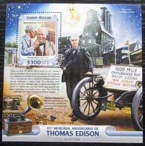 Guinea-Bissau 2016 Thomas Alva Edison Mi# Block 1467 Kat 12.50€ 2468