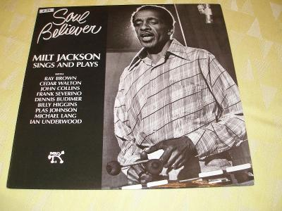 """1 LP 12"""" ST Milt Jackson Sings and Plays """"Soul Believer"""" (2.24.)"""