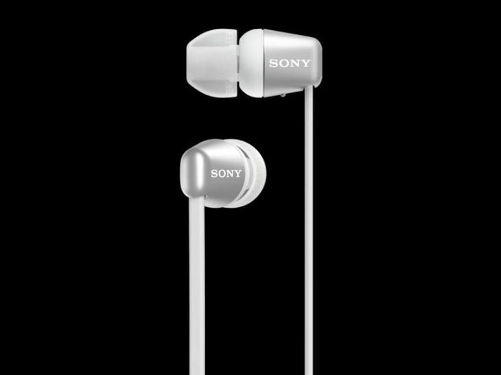SONY WIC310W.CE7 Bezdrátová sluchátka do uší, bílá - TV, audio, video