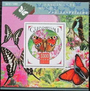 Guinea-Bissau 2015 Motýli Mi# Block 1447 Kat 12.50€ 2469