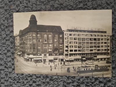 Stará pohlednice BRNO-NÁMĚSTÍ ČESKOSLOVENSKÉ ARMÁDY