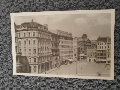 Stará pohlednice, BRNO- NÁMĚSTÍ SVOBODY
