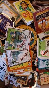 17000 etiket pivovarů Československo a ČR
