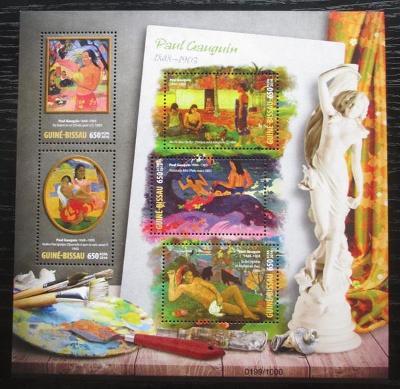 Guinea-Bissau 2016 Umění, Paul Gauguin Mi# 8548-52 Kat 12€ 2472