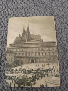 Stará pohlednice, BRNO 1953,prošlá