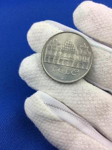 Stříbrná MINCE - 50 Kčs - TELČ - 1986 - Perfektní Stav