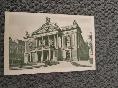Stará pohlednice, Brno- Divadlo