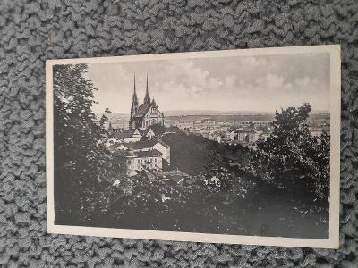 Stará pohlednice, Brno- Petrov
