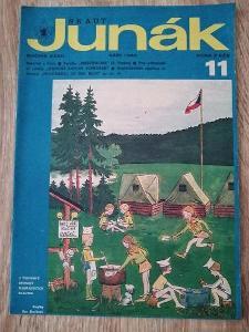 ČASOPIS - SKAUT JUNÁK - ročník 32 rok 1969 číslo 11