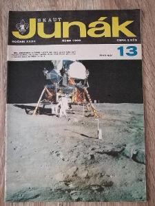 ČASOPIS - SKAUT JUNÁK - ročník 32 rok 1969 číslo 13