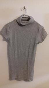 Tričko - Rolák - šedivý - kr. rukáv - vel. 36