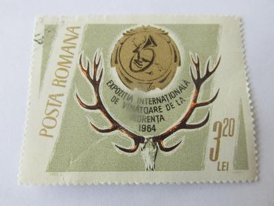 Známky  Rumunsko 1965, Lovy a trofeje