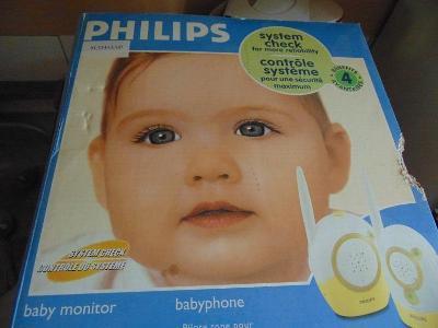 Dětská chůvička PHILIPS SCD 463