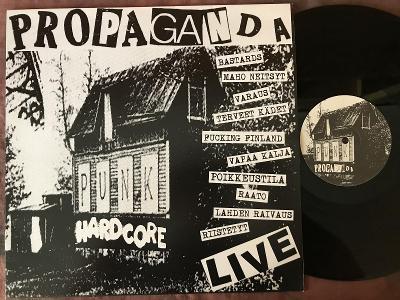 PROPAGANDA-Live-LP EX+ ASSI 010 Hard Core/ PUNK