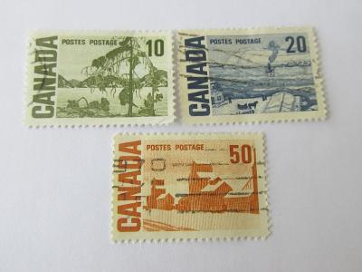 Známky  Kanada 1967, Krajiny