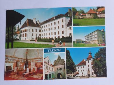 Třeboň - pohlednice VF