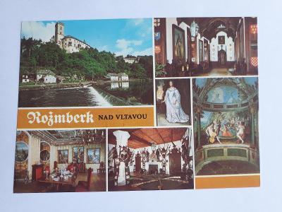 Rožmberk nad Vltavou - pohlednice VF