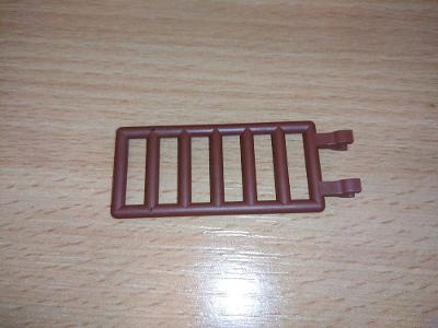 Lego díl 6020 - žebřík hnědý