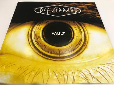Def Leppard: Vault (Def Leppard Greatest Hits 1980 - 1995) Jako Nové !
