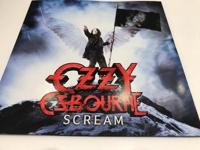 Ozzy Osbourne: Scream 2010, 1.Press, Jewel Case, Od korunky !!!