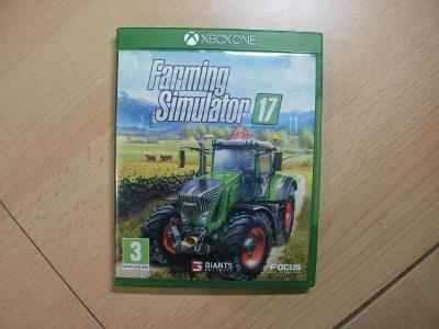 Hra na XBox ONE - Farming Simulator 17 - Anglický manuál