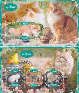 Fauna - kočka 2x, G16