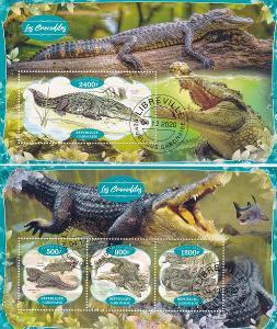Fauna - krokodýl 2x, G 23