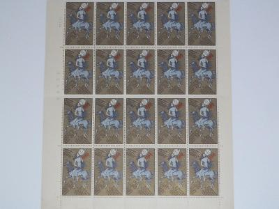 Archy známkových nálepek výstavy PRAGA 1978