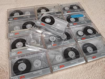 Audio Kazeta RAKS SX60 RAKS SX90 Kolekce 13ks MC