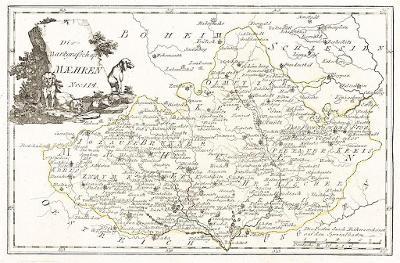 Reilly : Maehren, mědiryt 1791