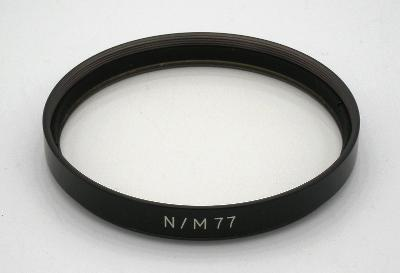 UV FILTR, (77 mm)  v pěkném  funkčním stavu