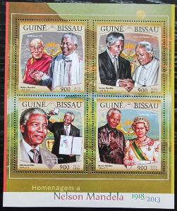 Guinea-Bissau 2016 Nelson Mandela Mi# 8664-67 Kat 13.50€ 2475
