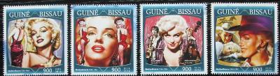 Guinea-Bissau 2016 Marilyn Monroe Mi# 8659-62 Kat 13.50€ 2476