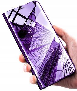 Huawei P Smart 2021, kryt chytrý obal pouzdro CLEAR VIEW hak33