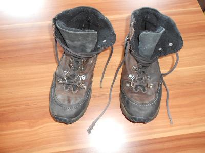 Zimní boty kotníkové