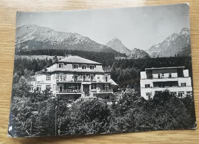 Pohled  Vysoké Tatry